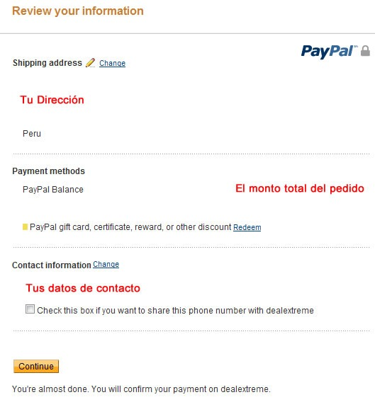 dealextreme-guia-paso-a-paso-comprar-gadgets-economico-internet-revisar-pedido-paypal-pago