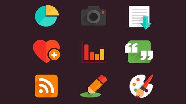 descarga iconos gratis 10 packs con miles de iconos - 53 sets iconos planos
