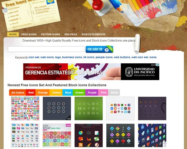 descarga iconos gratis 10 packs con miles de iconos - free icons web
