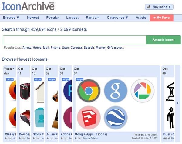 descarga iconos gratis 10 packs con miles de iconos - iconarchive