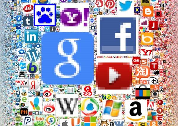 iconos de todas las paginas webs