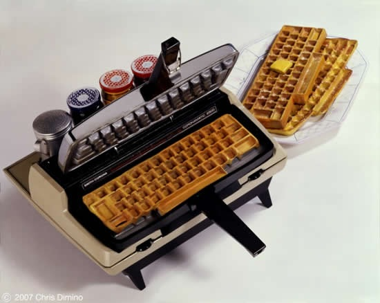 wafflera-teclado