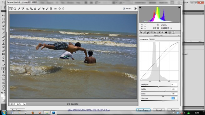 set tone curves of raw image How to Edit RAW Images in Adobe Photoshop? Beginners Guide