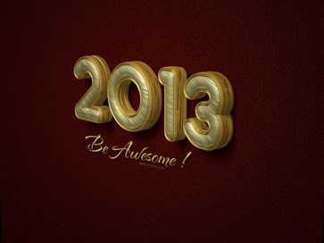 2013 by textuts Download Happy New Year 2013 Wallpaper for Desktop, iPad, Mobile