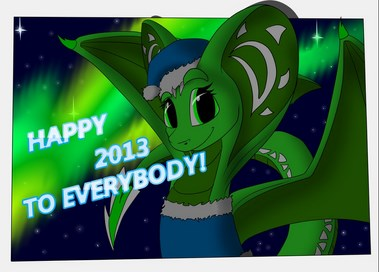 happy next year for everybody by flay667 Download Happy New Year 2013 Wallpaper for Desktop, iPad, Mobile