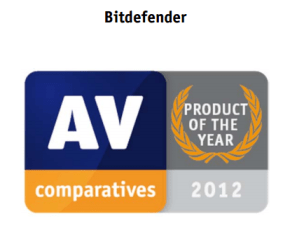 Bitdefender AV-Comparative Product of The Year