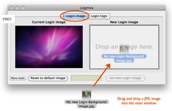 select mac background image