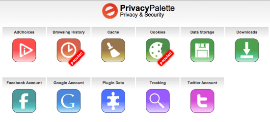 Privacy Palette