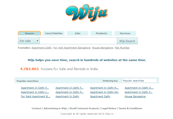 Wiju home page