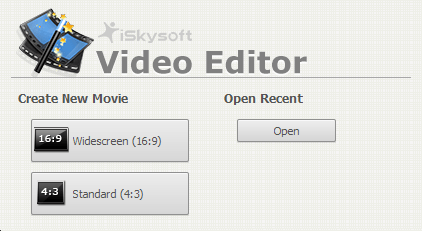 Select  video aspect ratio