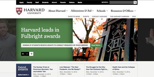 20. Harvard University