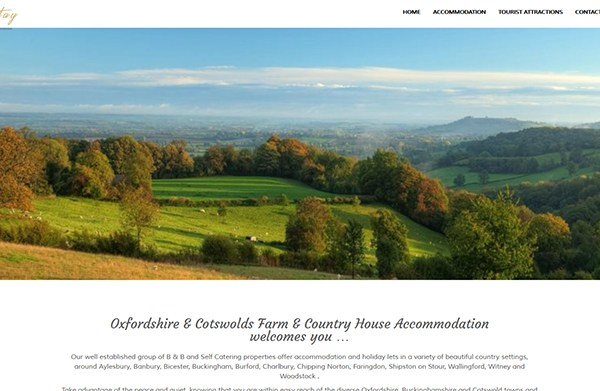 Country Stay – Group Website (Bespoke)