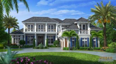Naples, FL. Architecture - West Indies Style House Plan ...