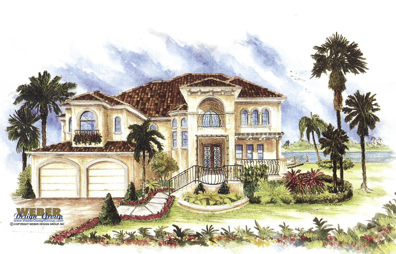 Splendent Florida Catania I House Plan Spanish House Spanish Mediterranean Style Home Plans Spanish Style House Characteristics Spanish Style Houses curbed Spanish Style House