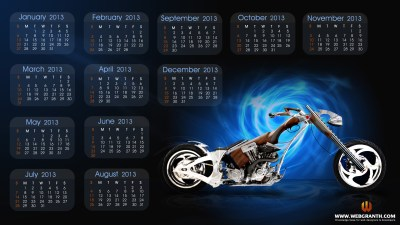 Year 2013 Calendar – Best Desktop Wallpaper Calendar 2013 ~ AutoAlerts
