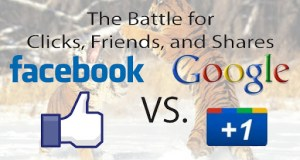 Google+ and Facebook rivalry