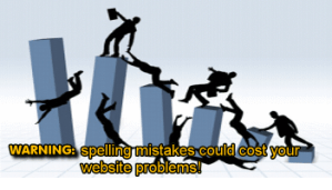 spelling mistakes affect website sales and profits