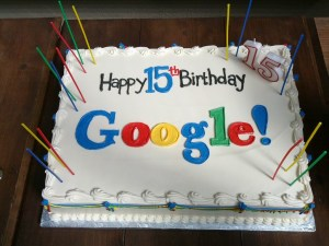 Google Birthday celebration - Hummingbird update announced!