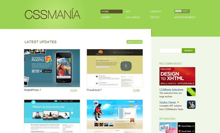 CssMania screenshot