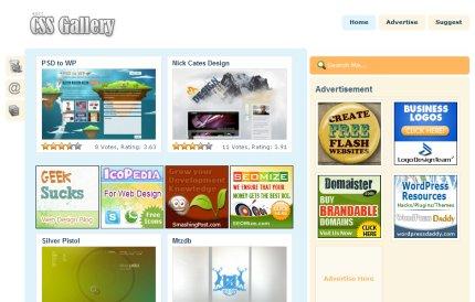 bestcssgallery homepage