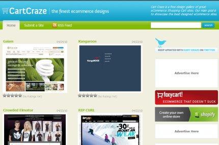 cartcraze homepage