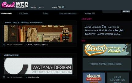 coolwebgallery homepage