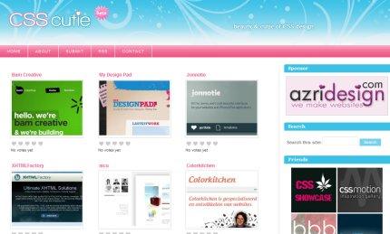 csscutie homepage