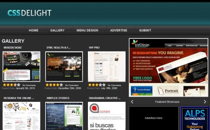 cssdelight homepage