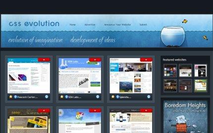 cssevolution homepage