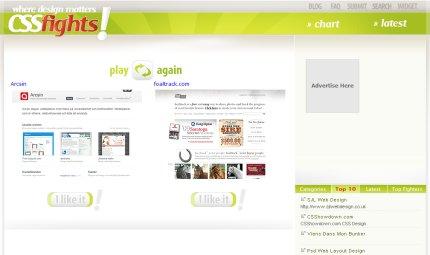 cssfights homepage