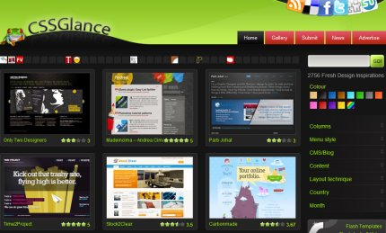cssglance homepage