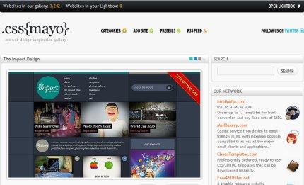 cssmayo homepage