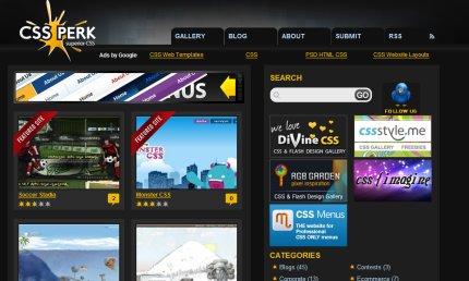 cssperk homepage