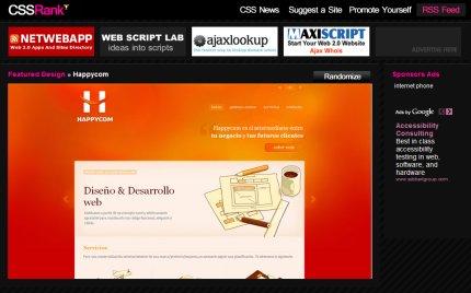 cssrank homepage
