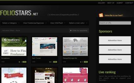 foliostars homepage