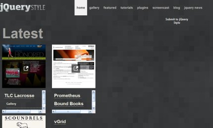 jquerystyle homepage