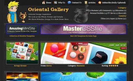 oriental-gallery homepage
