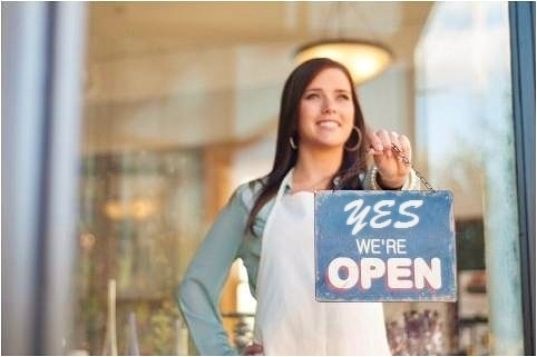 Small business websites - open for business