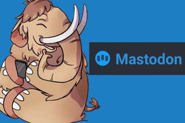 Resultado de imagen para red social Mastodon