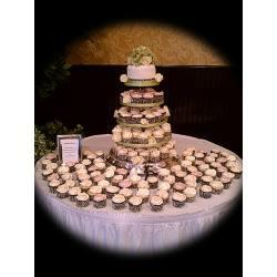 Small Crop Of Cupcake Wedding Cake