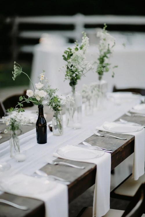 Medium Of Black And White Wedding