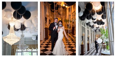 Black and White Wedding Theme | Wedding Ideas by Colour | CHWV