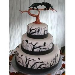 Small Crop Of Halloween Wedding Cakes