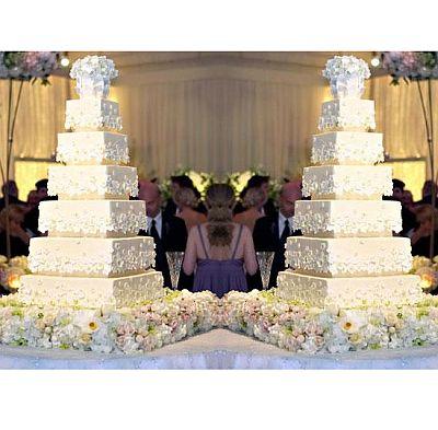 Kim Kardashian's Wedding Cake