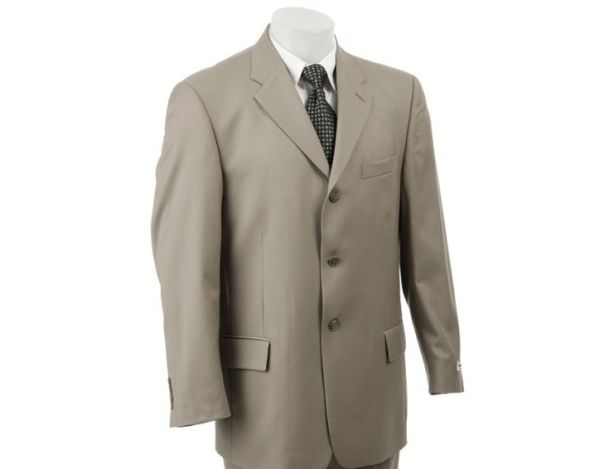 Pierre Cardin Pleated 3-button Suit
