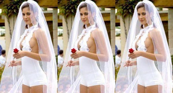 Swimsuit Wedding Dress