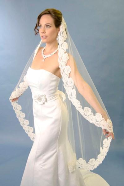 Types of the Wedding Veils Length | WeddingElation