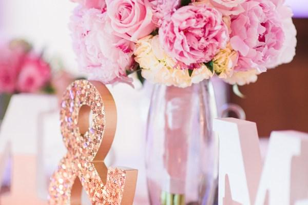 Posh Blush and Gorgeous Florals