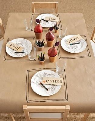 Wedding Reception Kids' Table Ideas