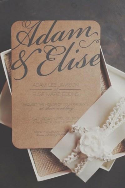 Top 15 popular rustic wedding invitaitons idea samples on ...